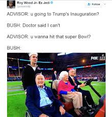 people are hilariously pointing out george h w bush missed trump s