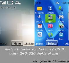 themes nokia 5130 zedge abstract theme for nokia x2 00 and other 240x320 by cyogesh56 on