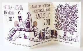 Indian Wedding Invitations Chicago Indian Wedding Invitations In Chicago Wedding Invitation Sample
