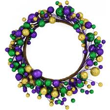 mardi gras wreaths 18 glitter mardi gras wreath xw1900a2 mardigrasoutlet