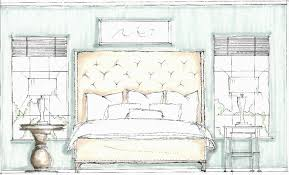 drawing interior design sketches ravishing painting curtain on