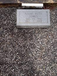 naomi ruth jones 1916 1949 find a grave memorial