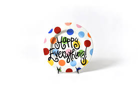 happy everything bright dot happy everything big platter with cake attachment2 m