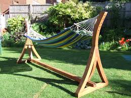 hammock stand diy very simple to install u2014 nealasher chair