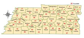 National Weather Forecast Map Tennessee Fire Weather Agencies