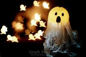 ghost lights halloween diy tutorial craft passion