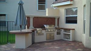 Outdoor Kitchen Cabinet Kits Outdoor Kitchen Creations As The Other Kitchen That You Can Make