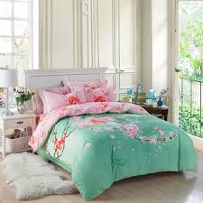 bedroom european style white jacquard silkcotton bedding sets