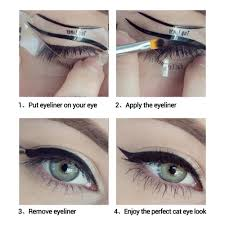 aliexpress com buy lanbena 10pcs fashion eyeliner stencil eye