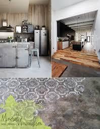 kitchen floor idea concrete kitchen floor ideas mindcommerce co