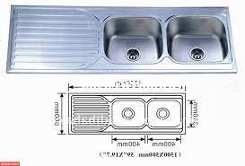Two Bowl Kitchen Sink by Mesmerizing 60 Double Bowl Kitchen Sink Sizes Inspiration Design