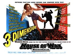 house of wax with vincent price in 3d u0027where beauty and terror