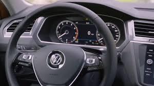 volkswagen tiguan 2018 interior 2018 volkswagen tiguan sel premium interior us spec youtube