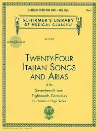 24 italian songs arias medium high voice book cd medium