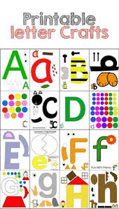 letter a crafts and printable activities printable letters