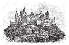 stuttgart castle hohenzollern castle or burg hohenzollern in stuttgart germany
