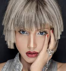 trendy gray hair styles bob haircut grey hair layered haircut trendy hairstyles for