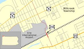 Erie Pennsylvania Map by Pennsylvania Route 299 Wikipedia