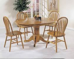 pedestal table with chairs acme furniture nostalgia 7 piece dining pedestal table and press