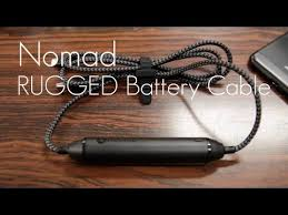 Rugged Lightning Cable The Ultimate Charge Sync Lightning Cable Nomad Rugged Battery