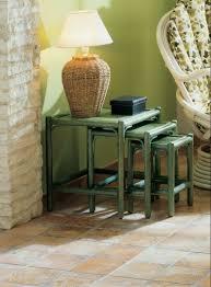 salon de veranda en osier table basse rotin meubles rotin haut de gamme pour salon et véranda