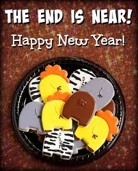 New Year S Cookie Decorations by 58 Best New Year U0027s Cookies And Fun Party Ideas Images On Pinterest