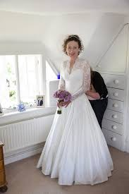 relaxed wedding dress a formal yet relaxed marquee wedding the wedding community