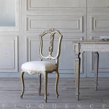 Vintage Bedroom Furniture 1940 French Country Style Eloquence Single Vintage Side Chair 1940