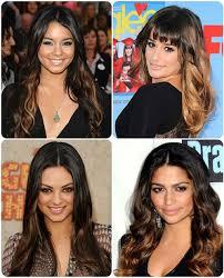 rainbow hair color trends for brunette women haircolor trends