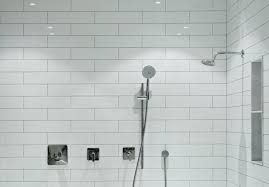 Bathroom Tile Shower Pictures Choosing Between A Prefabricated Stall Or Tiled Shower