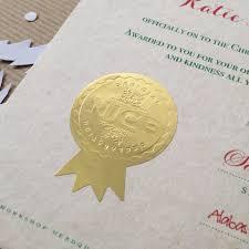traditional christmas eve santa u0027nice u0027 list certificate by