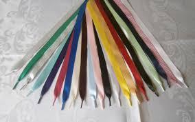 ribbon shoelaces satin ribbon shoelaces for trainersboots shoes dm s