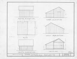 Shed Homes Floor Plans Shed Elevations Floor Plan Barnabus Jones House Wake County Home