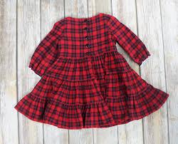 toddler dress plaid flannel size 2 dress