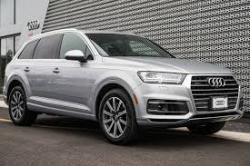 audi q7 cargo capacity 2018 audi q7 3 0 tfsi premium plus at audi eatontown serving
