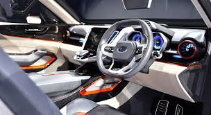 subaru viziv interior subaru viziv 7 concept may be the future tribeca successor subaru