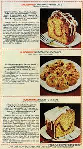 6 dessert recipes with duncan hines cake mix 1978 click americana