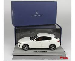 maserati white 2016 levante different colors limited 199 pcs with display case by bbr