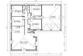 plan plain pied 4 chambres plan maison en l 4 chambres marvelous plan 6 plan plain pied 4 plan