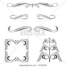 ornamental scrollwork vector photo bigstock