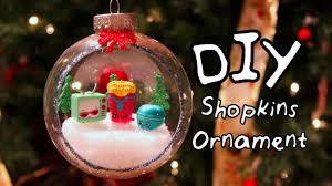 diy shopkins ornament diywithjhoy youtube