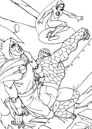 fantastic coloring pages 63 free superheroes coloring sheets