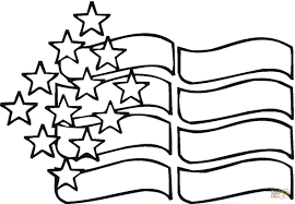 american stars coloring page free printable coloring pages