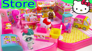 hello kitty convenience store mini doll playset my little pony