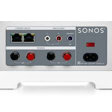 sonos as home theater system sonos connect amp wireless music system adaptor at gear4music com