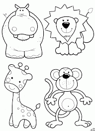 animals kids coloring pages kids coloring