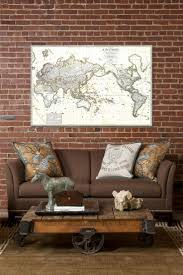 52 best antique map in home decor images on pinterest antique