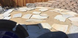 How To Make A Flagstone Patio With Sand How To Install A Flagstone Patio