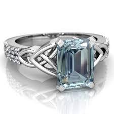 Aquamarine Wedding Rings by Aquamarine Jewelry Unique And Elegant Styles By Jewelsforme