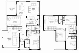 house plans 2 story two story house plans lovely 4 bedroom floor plans 2 story design